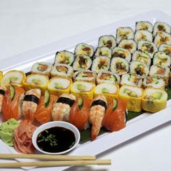 Japanese sushi platter thumbnail