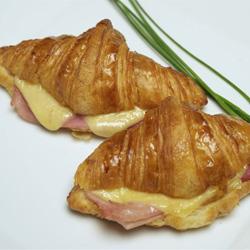 Savoury croissants - mini thumbnail