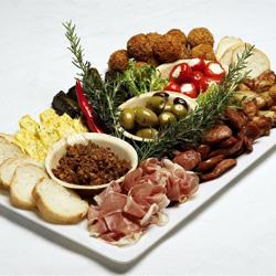 Spanish tapas platter thumbnail