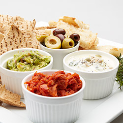 Platter of 3 house made dips thumbnail