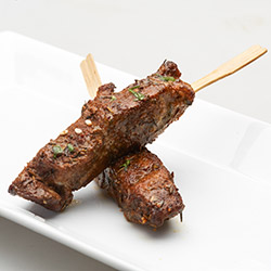 Beef fillet skewers - mini thumbnail