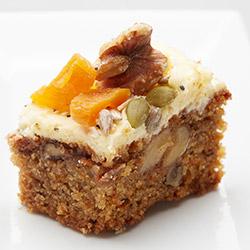 House made carrot cake slice thumbnail