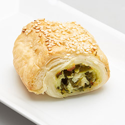 Spinach, ricotta, pumpkin and pesto rolls - mini thumbnail