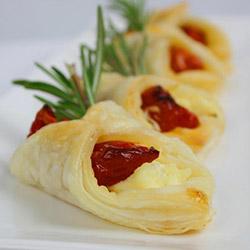 Semi Dry Tomato, Ricotta and Rosemary Tartlets thumbnail