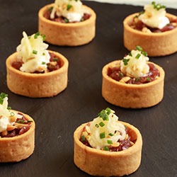 Caramelized onion tart thumbnail