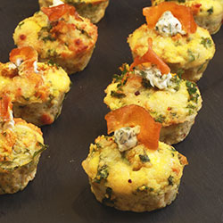 Cumin roasted sweet potato frittata thumbnail