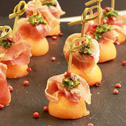 Prosciutto and melon thumbnail