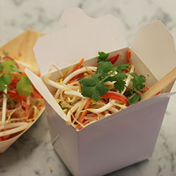 Glass noodles with Asian greens salad thumbnail