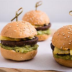 Gourmet gluten free mini burger thumbnail