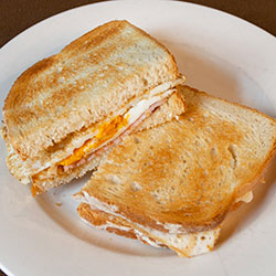 Bacon and egg sandwich thumbnail