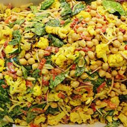 Roasted cauliflower salad thumbnail