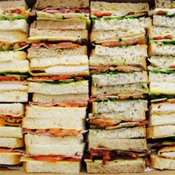 Gourmet ribbon sandwiches thumbnail