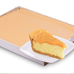 Doce de Leite Caramel cheesecake - serves 30 thumbnail