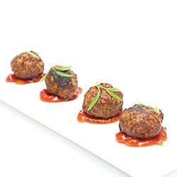 Lamb and feta cheese meatballs - mini thumbnail