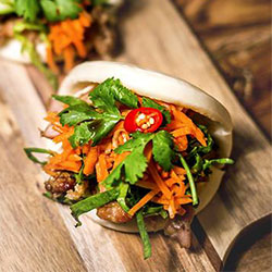 Bao slider with lemongrass beef thumbnail