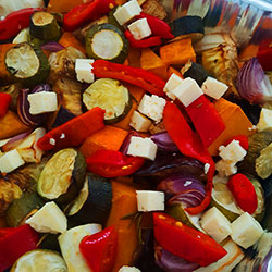 Winter roast vegetable salad thumbnail