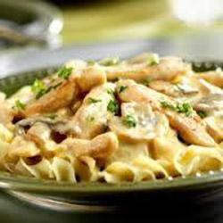 Chicken and pasta strogganoff thumbnail