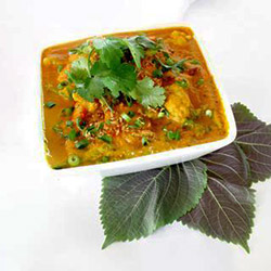 Gourmet vegetable curry with rice thumbnail