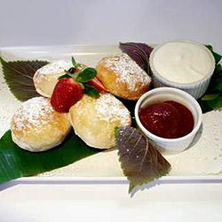 Home baked fresh scones thumbnail