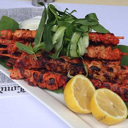Homemade Tandoori chicken skewers thumbnail
