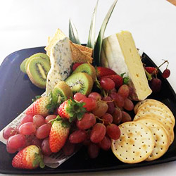 Cheese and fruit platter - serves 6 thumbnail