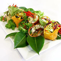 Gourmet wraps and rolls thumbnail