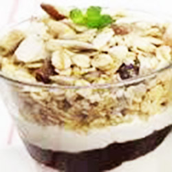 Avia yoghurt topped with toasted muesli - 10 oz thumbnail