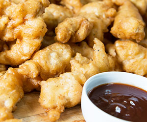 Chilli chicken tender strips - mini thumbnail