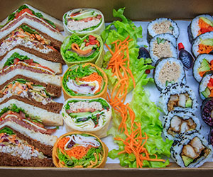 Sandwich and sushi package thumbnail