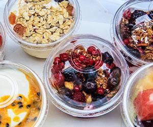 Yoghurt parfait cup - 8 oz thumbnail