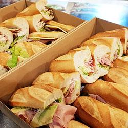 Gourmet bread sandwiches thumbnail