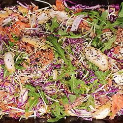 Asian chicken slaw salad thumbnail