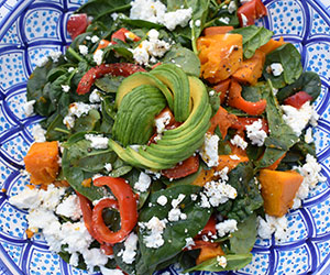 Roasted pumpkin salad thumbnail