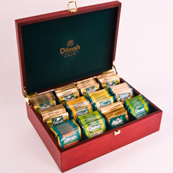 Dilmah tea chest presenter - 6 slots thumbnail