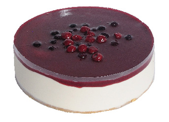 Cherry and berry cheesecake thumbnail