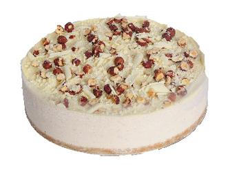 Kahlua and hazelnut cheesecake thumbnail