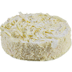 White Raspberry Mousse Cake - Large thumbnail