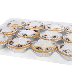 Christmas fruit mince pies thumbnail