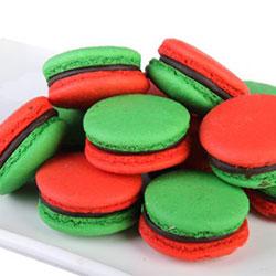 Christmas macarons thumbnail