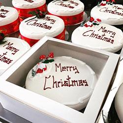 Merry Christmas fruit cake thumbnail