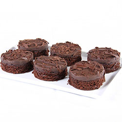 Individual mini round cake - 7cm thumbnail