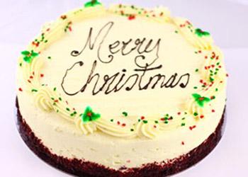 Christmas red velvet cake thumbnail