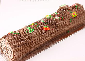 Christmas yule log - serves 12 guests thumbnail