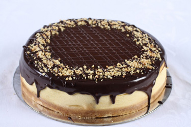Chocolate and nut cheesecake thumbnail