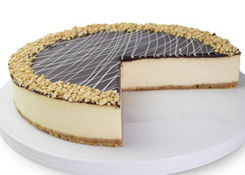 Chocolate nut cheesecake thumbnail