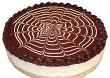 Chocolate vanilla cheesecake thumbnail