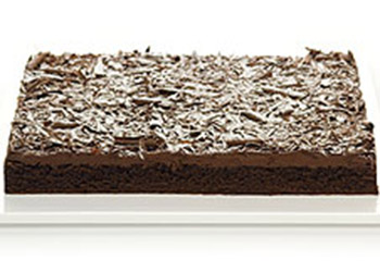 Chocolate mud slab - 40 cm x 30 cm - serves up to 35 thumbnail