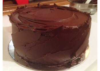 Eggless chocolate fudge cake - 9 inches - serves up to 18 thumbnail