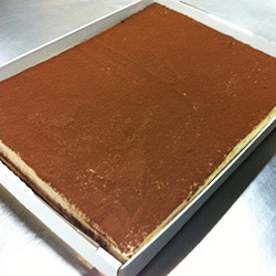 Tiramisu slab - 40 cm x 30 cm - serves up to 35 thumbnail