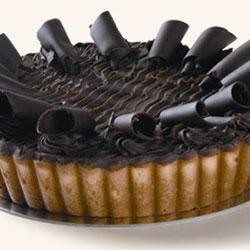 Baked chocolate ricotta cheesecake thumbnail